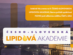 podujatie-V. Česko-slovenská lipidová akademie
