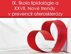podujatie-Vybrané prednášky z podujatia IX. škola lipidológie a XXVII. Nové trendy v prevencii aterosklerózy